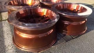 Video Powder Coating Wheels in Copper Chrome download MP3, 3GP, MP4, WEBM, AVI, FLV Juli 2018