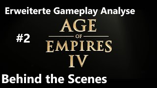 Age of Empires IV - Gameplay - Behind the Scenes #2 erweiterte Traileranalyse +AoE3_DE [German]