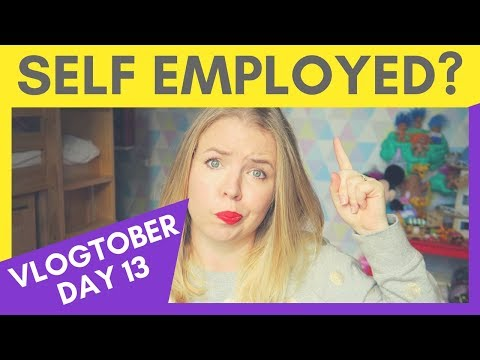 BEING SELF EMPLOYED | WHAT I WISH I'D KNOWN | VLOGTOBER #13