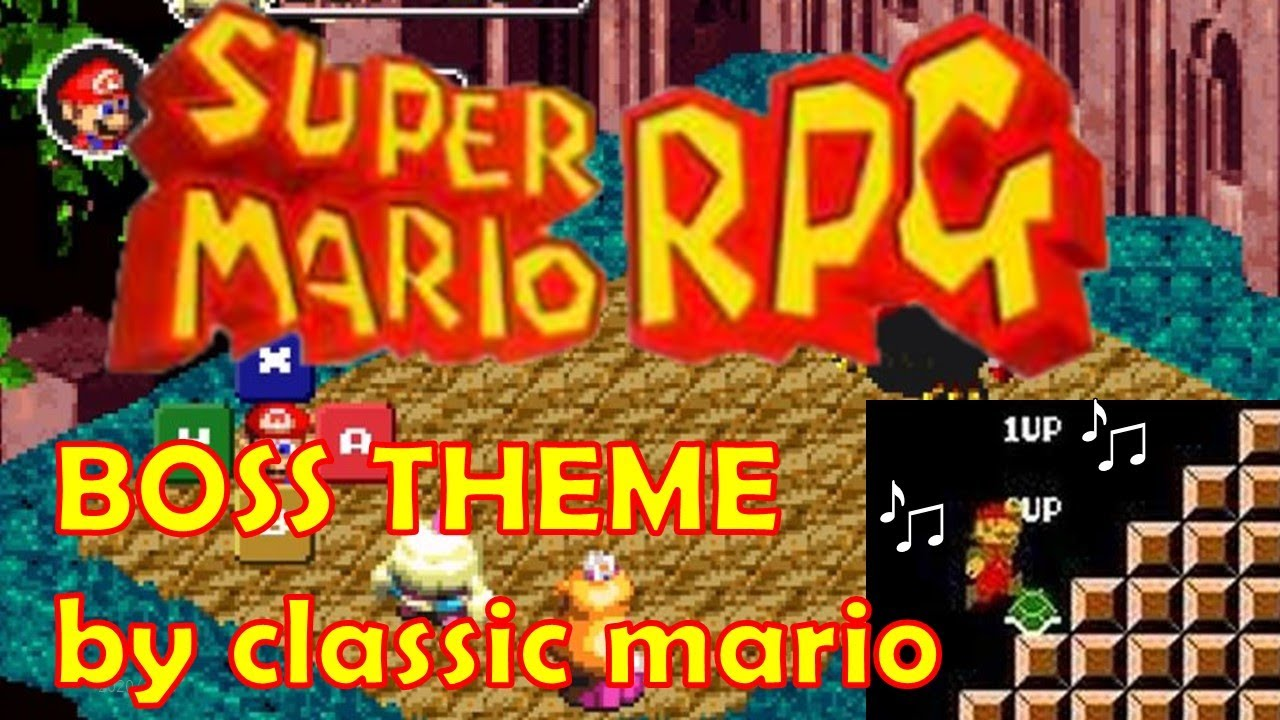 Super mario RPG song by classic mario music (1hour)