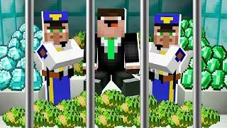 RICH NOOB got into PRISON! in Minecraft Noob vs Pro