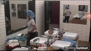 Armela dhe Damiano ne dush - Big Brother Albania 9