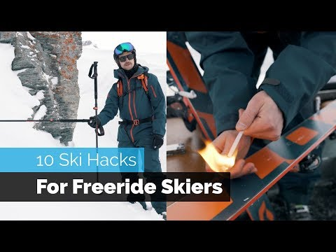 10 SKI HACKS FOR FREERIDE SKIERS