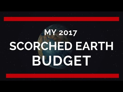 my-scorched-earth-2017-budget--$11,-340