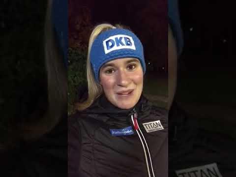 Sitzfleisch-Challenge 2017 - Videogruß von Natalie Geisenberger