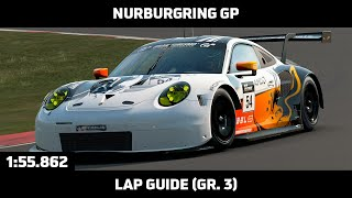 Gran Turismo Sport - Daily Race Lap Guide - Nurburgring GP - Porsche 911 RSR Gr.3