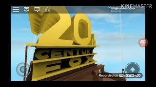 20th Century Fox Home Entertainment Logo Roblox Royaume-Uni