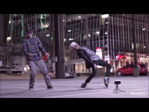 Men With Out Hats - Safety Dance - Remix : Robot Dance vs Brake Dance