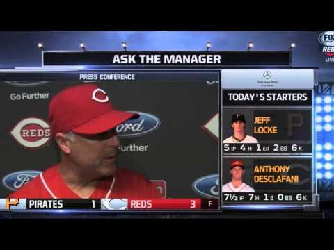 Bryan Price calls Jay Bruce an iconic Cincinnati Reds player
