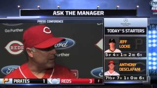 Bryan Price calls Jay Bruce an iconic Cincinnati Reds player
