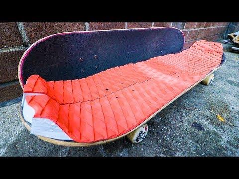 SURF GRIPTAPE VS SKATE GRIPTAPE!!