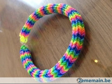 rainbow loom hexafish bracelet how to 6pin fishtail