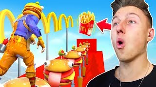 10, 0 V-Bucks McDonalds DEATHRUN em Fortnite!