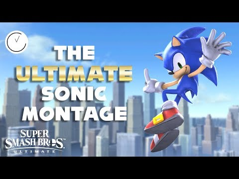 THE ULTIMATE SONIC MONTAGE - Super Smash Bros Ultimate thumbnail
