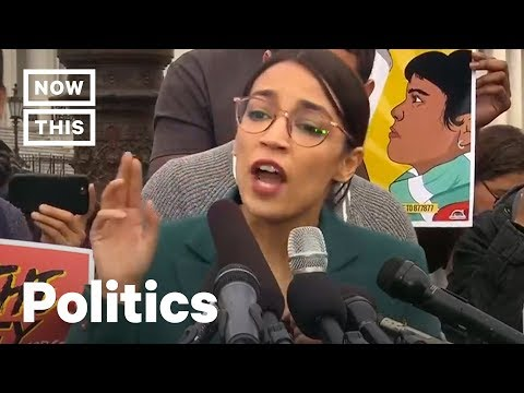 Alexandria Ocasio-Cortez Rails Against Trump's Anti-Immigrant Decisions | NowThis