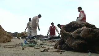وضع مأساوي للمهاجرين على السواحل الليبية