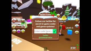 New codes for present wrapping simulator (Roblox)
