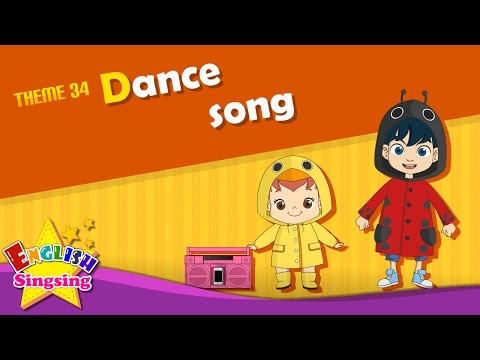Theme 34 Dance song  The Hokey Pokey  ESL Song & Story  Learning English for Kids