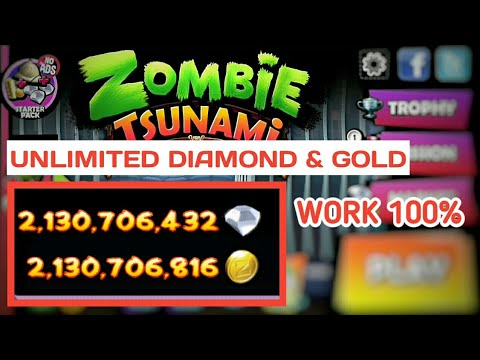 CARA CHEAT ZOMBIE TSUNAMI UNLIMITED DIAMOND AND GOLD | HOW TO CHEAT ZOMBIE TSUNAMI