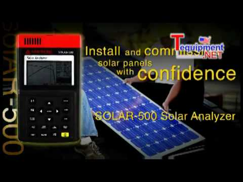 Amprobe New Solar Energy Products
