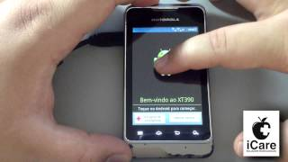 Repeat youtube video Hard Reset Motorola XT390 (Android 2.3.6)