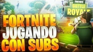 MINI CLIP CON SUBS|+73 WINS|FORTNITE BATTLE ROYALE