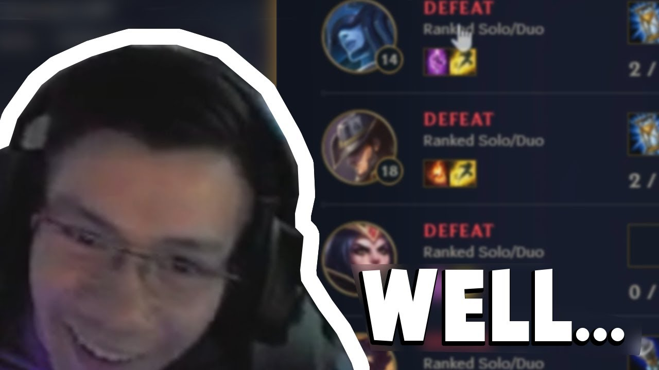 So Shiphtur Reacted To Imaqtpie Looking at His Match History... | Funny LoL Series #213