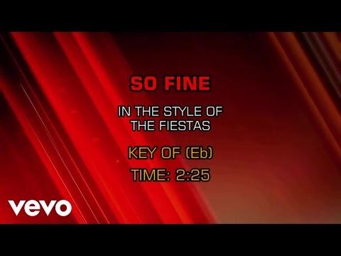 The Fiestas - So Fine (Karaoke)