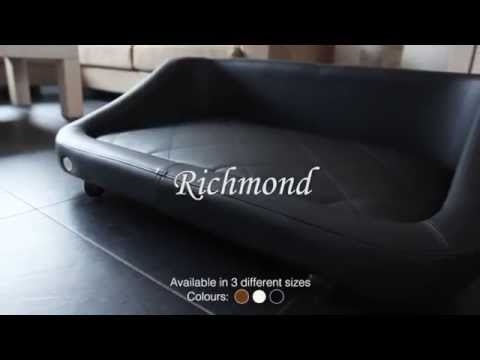chester and wells dog bed model richmond canap pour chien hondenbank hundesofa hundeseng youtube. Black Bedroom Furniture Sets. Home Design Ideas