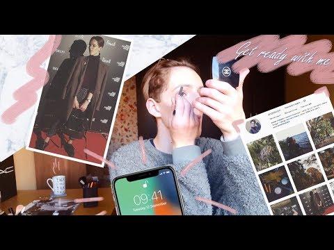 СОБИРАЙСЯ СО МНОЙ | riga fashion week , instagram , iphone X , отношение к хейтерам