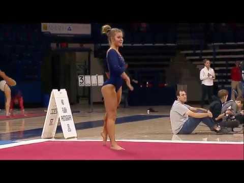 Gracie Kramer Ucla Floor Exercise 9 850 Ucla At