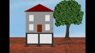 Causes of building subsidence