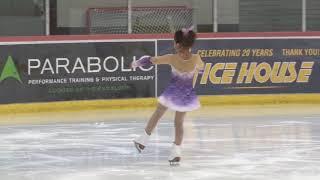 Megumi Ice House Basic Skills Competition 2018 Figure Skating