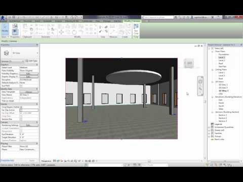 Revit: How to add ceilings and lights