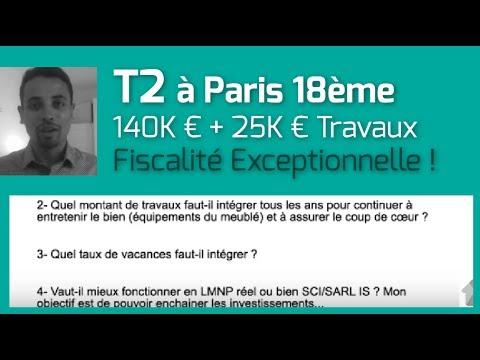 """T2 """"Rentable"""" à Paris avec une Fiscalité Exceptionnelle [Analyse Immo]"""