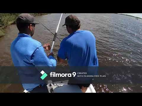 Fishing Sabine Lake