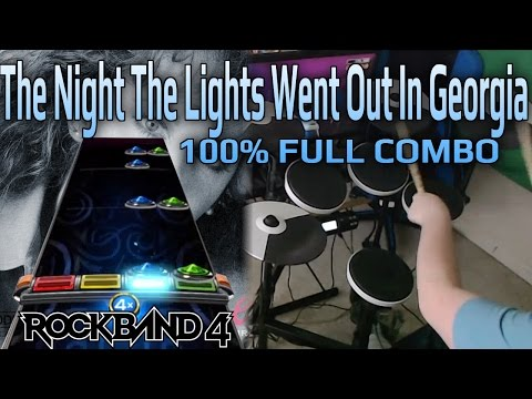 Reba McEntire - The Night The Lights Went Out In Georgia 100% FC (Expert Pro Drums RB4)