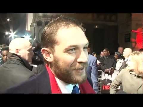 Tom Hardy's top dating tip: Say no to chat-up lines! This Means War premiere, London