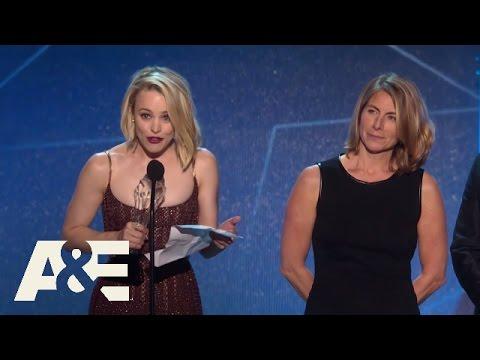 "The Cast of ""Spotlight"" Wins Best Acting Ensemble   2016 Critics' Choice Awards   A&E"