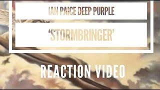 Ian Paice 'Stormbringer' Reaction Video