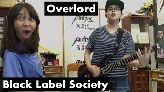 Black Label Society - #Overlord - cover