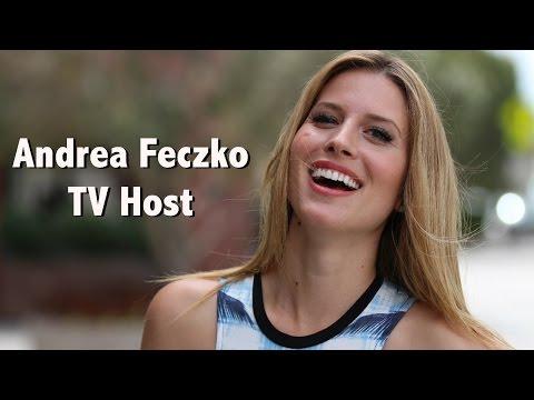 Andrea Feczko TV Host/Producer Demo Reel