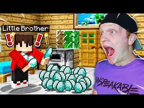 CATCHING MY BROTHER STEALING MY DIAMONDS!!