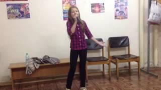 Лиза Петрова (урок вокала)