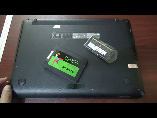 UPGRADE SSD + RAM ASUS X441UV - NGEBUT