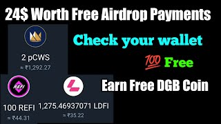 24$ Free Airdrop Payment Received  earn unlimited Digibyte coin - Earn free Cryptocurrency