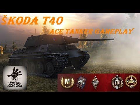 Škoda T40, 6 kills Ace Tanker Gameplay by Kasaku