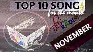 Top 10 Songs (November 2017)