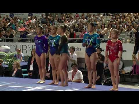 2017 Melbourne World Cup - Apparatus Finals - Day 1