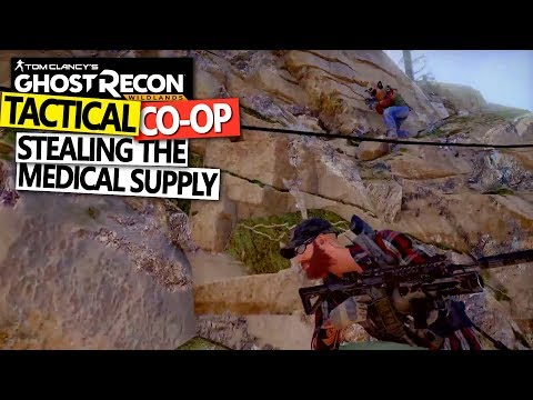 Ghost Recon: Wildlands - Stealing The Medical Supply Truck - Tactical CO-OP Gameplay